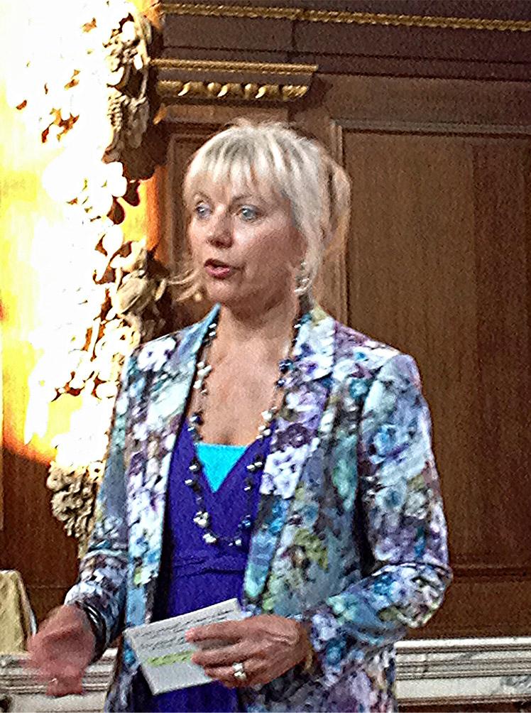 Arielle speaking